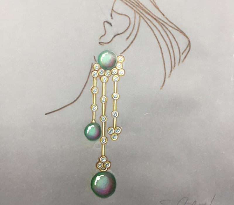 JEWELRY DESIGN WATERCOLOR