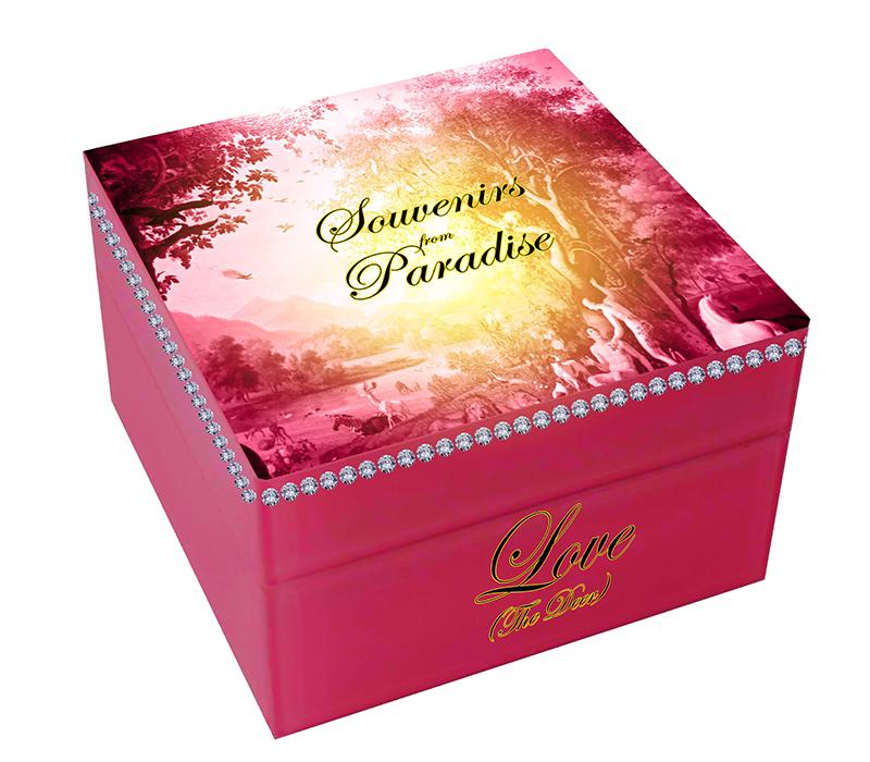 Jewelry box outside