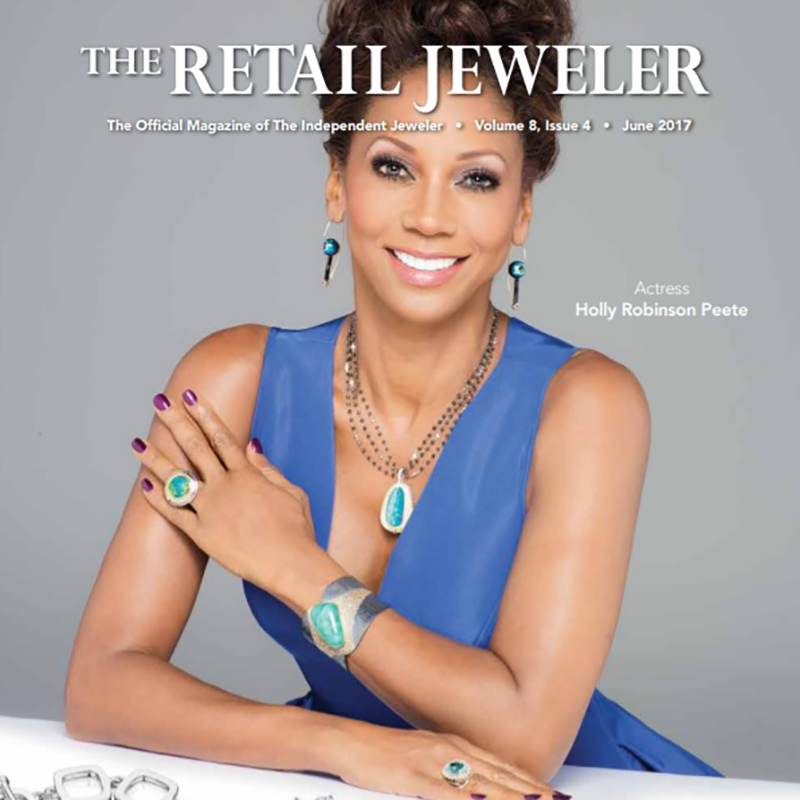 Retail Jewelers covers NYJDI with a special spread on our photography class