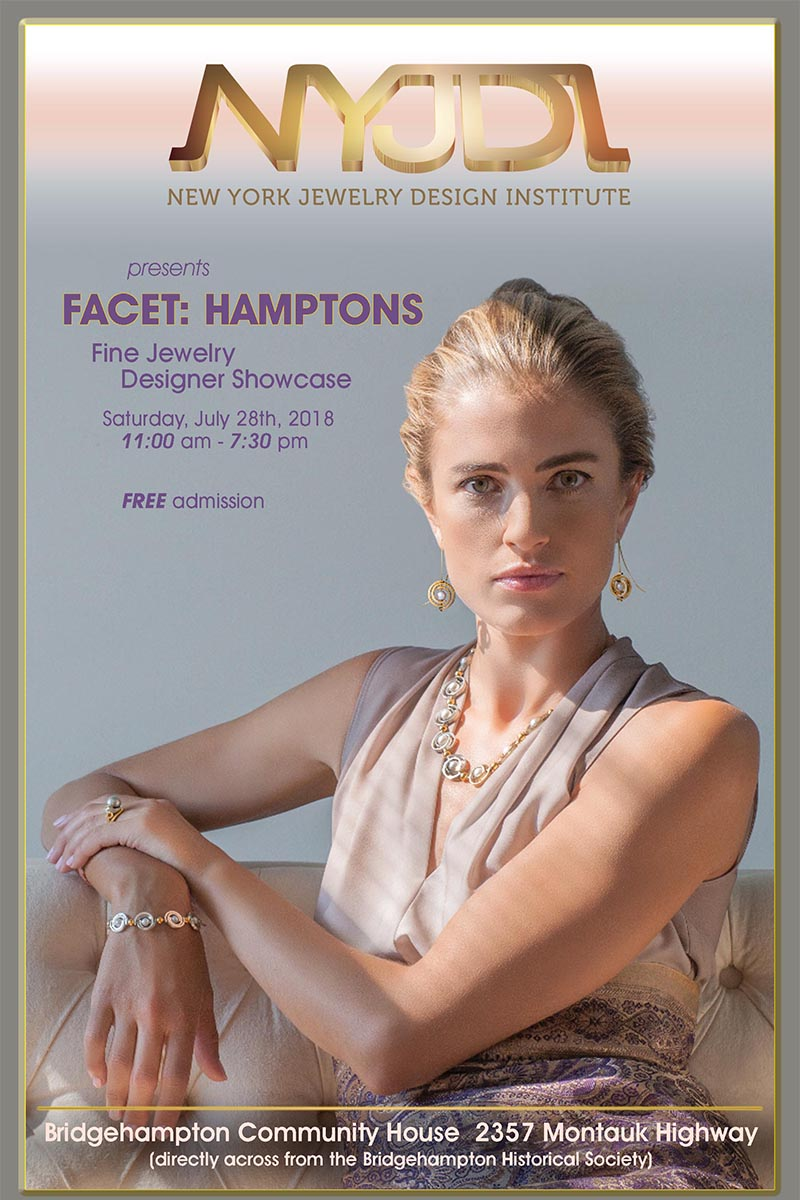 Facet Hamptons Fine Jewelry Designer Showcase Journal Cover