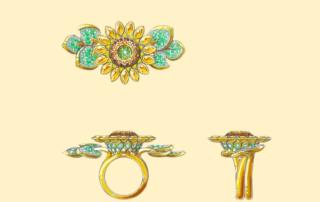 Handsketching Jewelry Design Trend